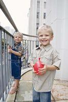 Cómo hacer sesiones de fotos de la diversión para los niños