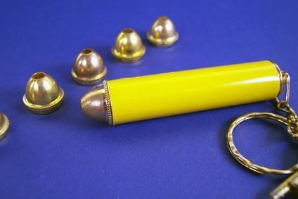 Magnetómetro hecho en casa con un puntero láser