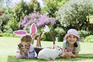 Divertidas actividades al aire libre para hacer con niños pequeños en Pascua