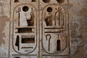Cómo hacer la foto de cartones de lotería con los números egipcios
