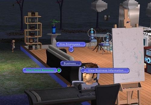 Cómo iniciar un negocio en Los Sims 2