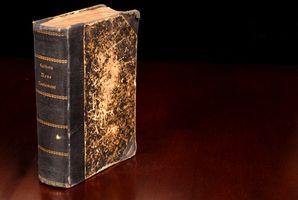 Forma de guardar alemán antiguo Biblias