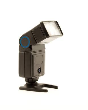 Cómo utilizar un flash Canon en un soporte
