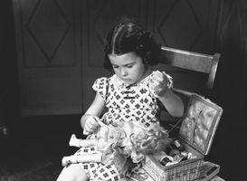 Cómo encordar una señora Alexander muñeca