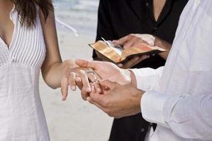 Cómo encontrar una bendición para los rezos de la boda
