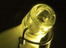 Cómo identificar una botella verde antiguo poli Soda