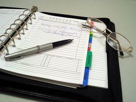 Cómo hacer un planificador semanal