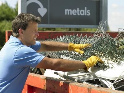Eliminación de residuos de trozos de metal