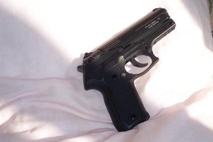 Cómo quitar el óxido De azulados armas de fuego