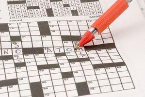 Cómo numerar un crucigrama