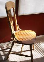 Acerca de los tipos silla antigua
