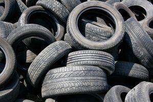 Usos de los neumáticos desechados como una fuente de energía alternativa