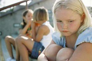 Características de los matones femeninos en la Escuela Intermedia