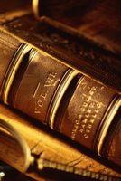 Cómo cuidar los libros encuadernados de cuero