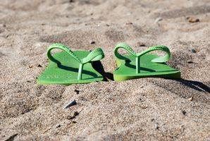 El casquillo del deslizador de la playa