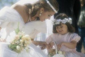 Como montar una corona para una niña de las flores