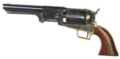 Cómo instalar una correa de cuello de lazo en el revólver