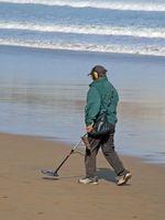 Como encontrar Oro con un detector de metales de la playa de Hunter