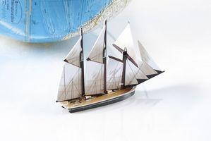 Pasos en La construcción de un modelo de barco