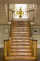 La decoración de escaleras para una boda