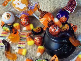 Cómo enviar caramelo de Halloween