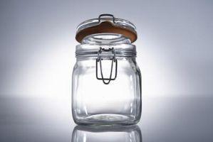 Regalos hechos en casa en frascos de vidrio