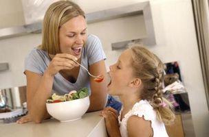 Cómo obtener un niño con peso inferior a subir de peso