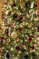 Vs. árboles de navidad artificiales Los árboles de Navidad naturales