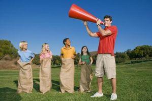 Obstáculo Juegos del curso para adolescentes