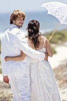 Ideas del pastel de bodas de la playa
