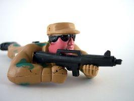 Cómo jugar con soldados de juguete