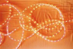 Cómo hacer que las luces LED alimentadas por baterías