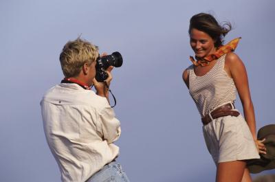 Diversas actitudes cuando se fotografían personas