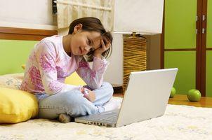 Efectos del ordenador en niños