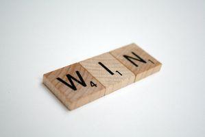 Cómo crear una lista de palabra del Scrabble