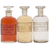 Los experimentos ácido muriático