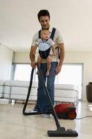 Cómo obtener las tareas del hogar con un bebé