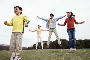Durante el gasto calórico Actividades para niños