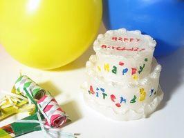 Cómo planificar primera fiesta de cumpleaños de un niño del Año