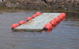 Cómo construir un muelle flotante barato