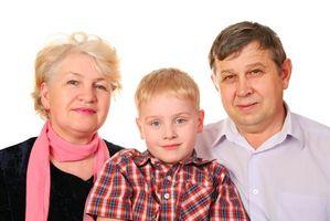 Derechos del Reino Unido para los abuelos