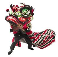 Craft Año Nuevo Chino para niños en edad preescolar