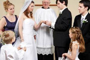 Cómo ocupar los niños durante una recepción de boda