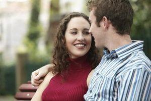 Lo que individuos como en una novia
