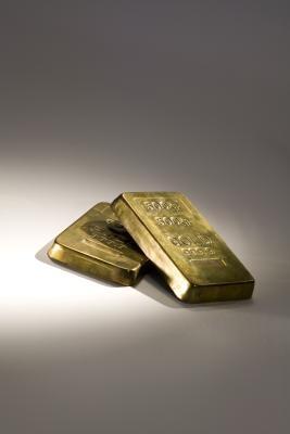 Cómo romper una barra de oro