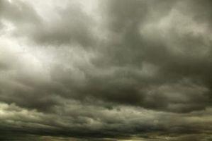 Qué tipo de clima Hacer Nimbostratus nubes Causa?