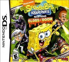 """Cómo jugar el juego de Nintendo DS """"Bob Esponja: Globs of Doom"""""""