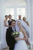 Cómo construir un contexto de la boda fuera de las flores