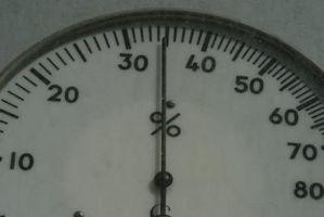 Cómo probar un higrómetro analógico