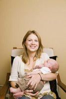 Etapas mensuales para un bebé